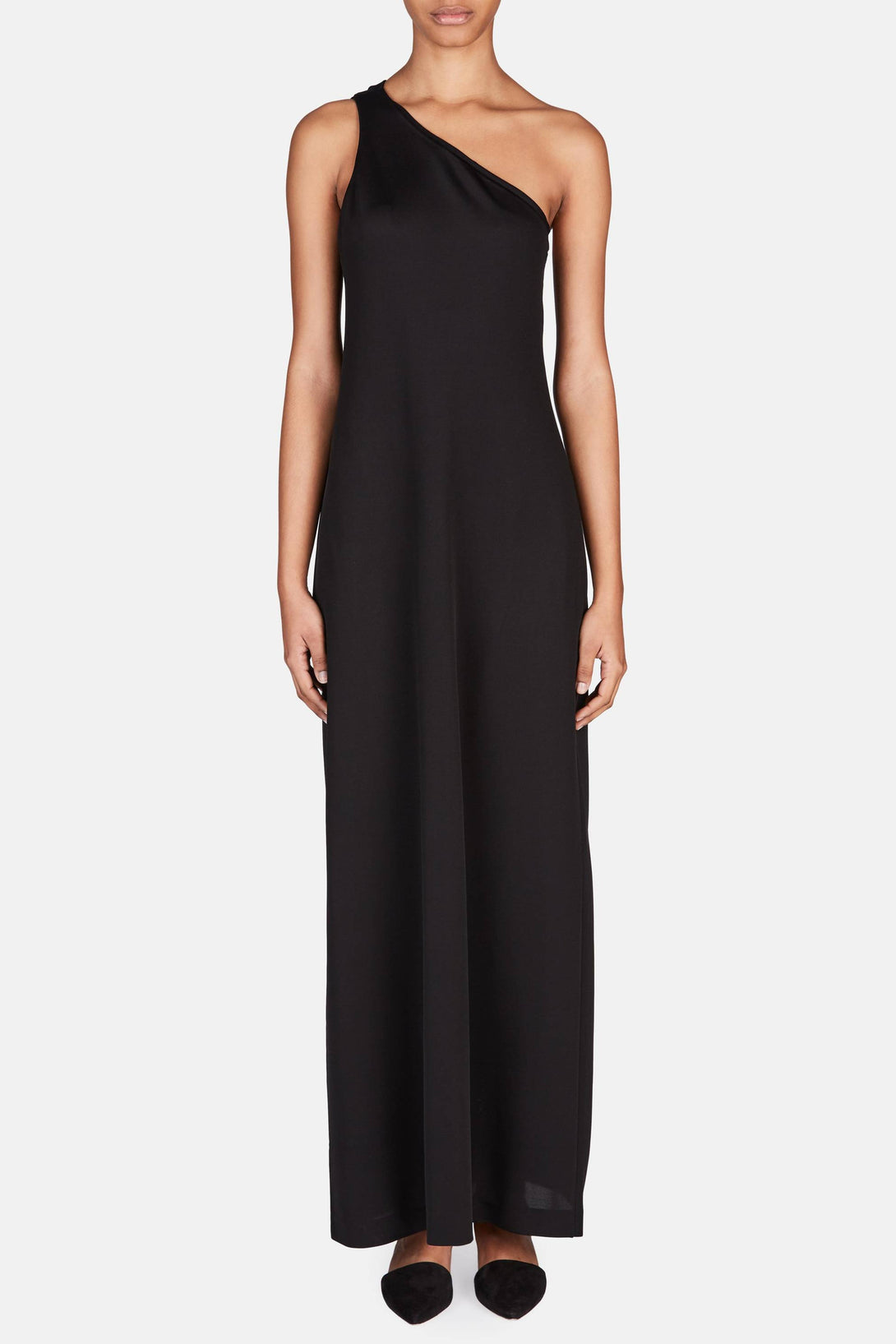 Annie Long Dress - Black