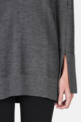 Barry Sweater - Grey Melange