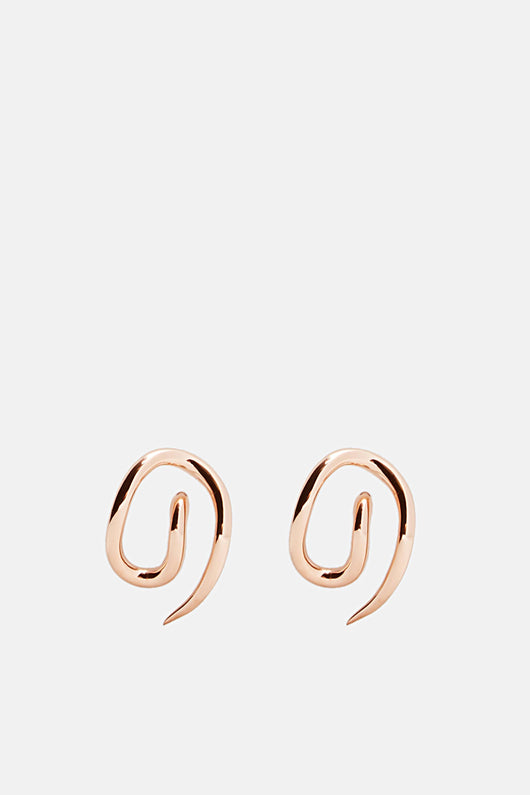 Whirl Small Earrings - Pink