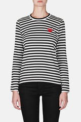 Play Striped T-Shirt - Black/White