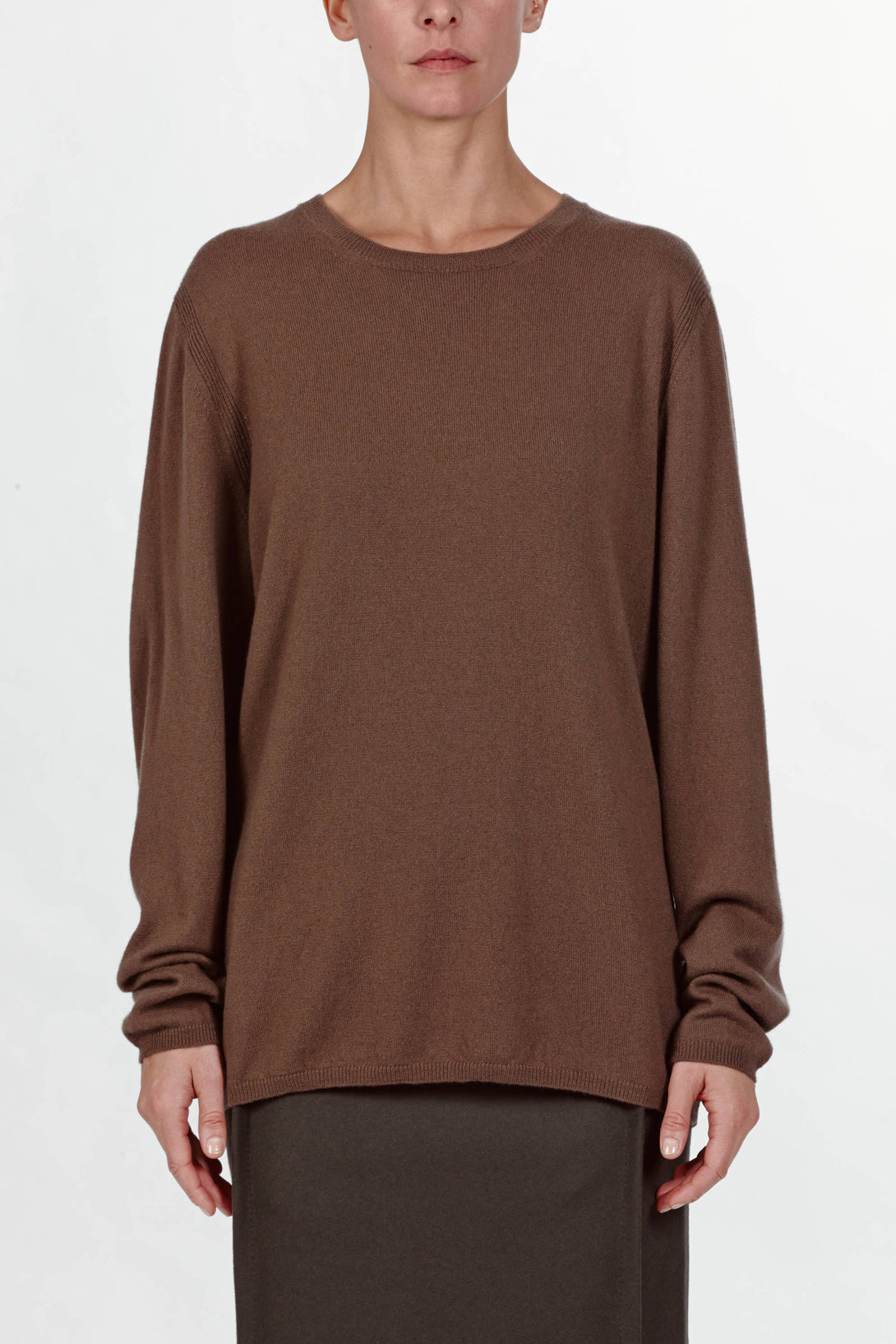 Crewneck Sweater - Taupe