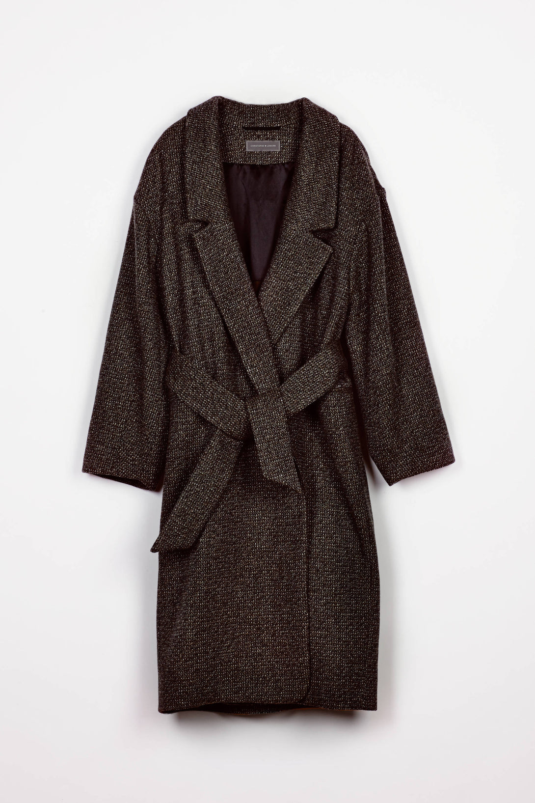 Tweed Coat - Grey Marl