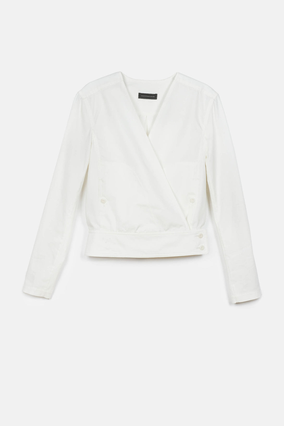 Wrapover Overshirt