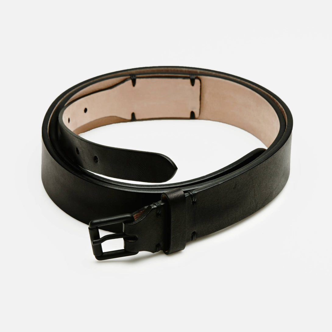 Double Strap Belt - Black