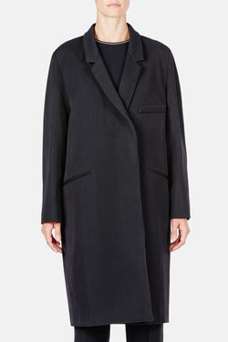 Dress Coat - Black