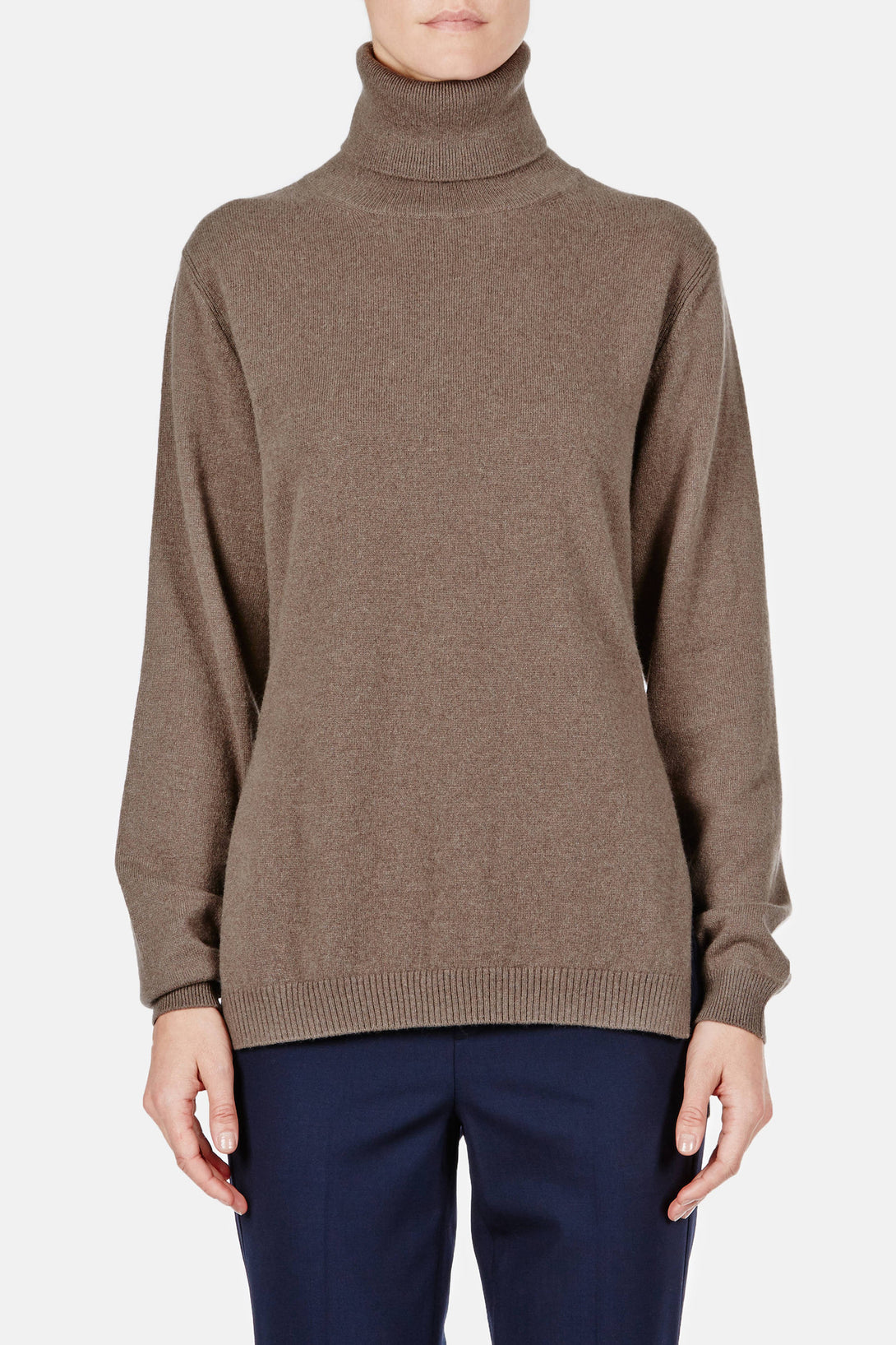 Turtleneck Sweater - Fango