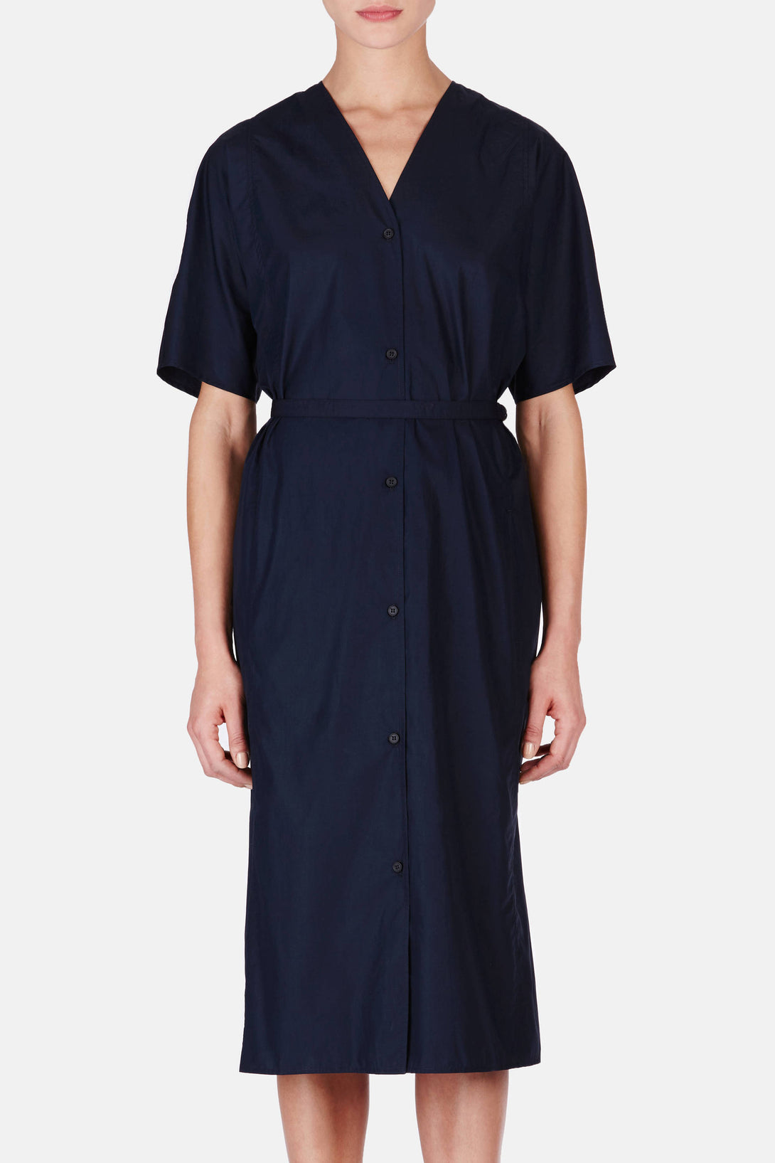 Shirt Dress - Midnight Blue