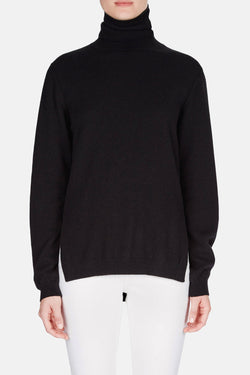 Turtleneck Sweater - Black