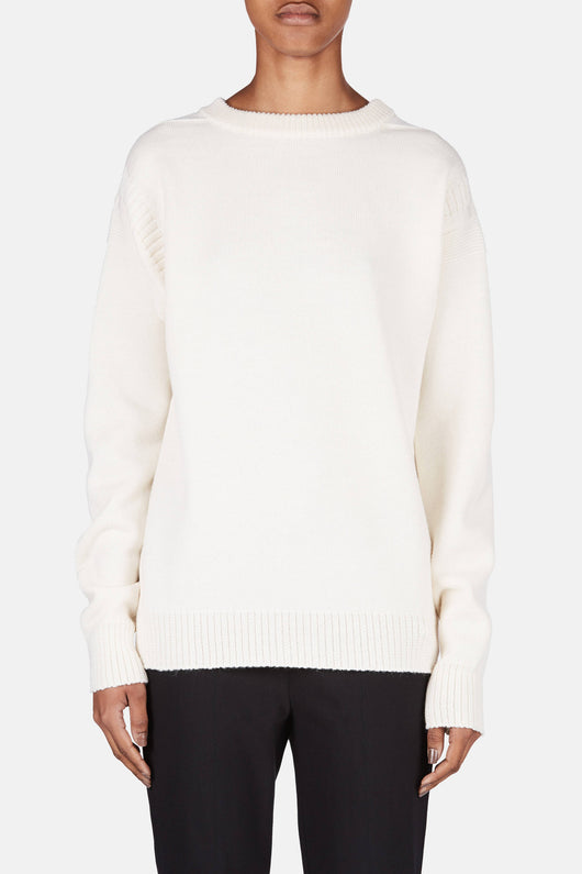 Guernesey Sweater - Chalk