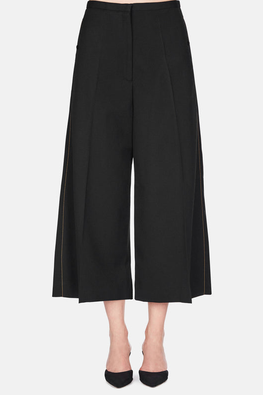 Large Pants Cropped - Black