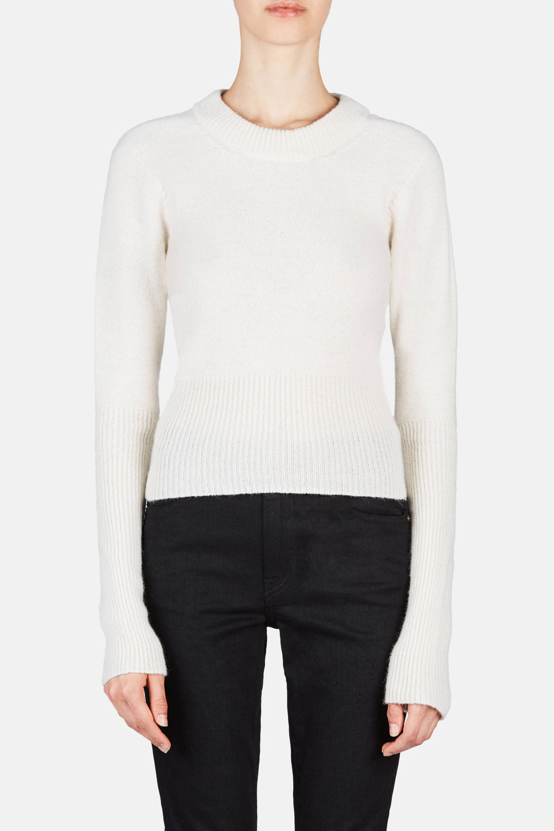Short Sweater - Winter White