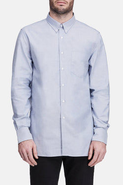 L/S Button Down Shirt - Blue