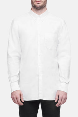L/S Button Down Shirt - White