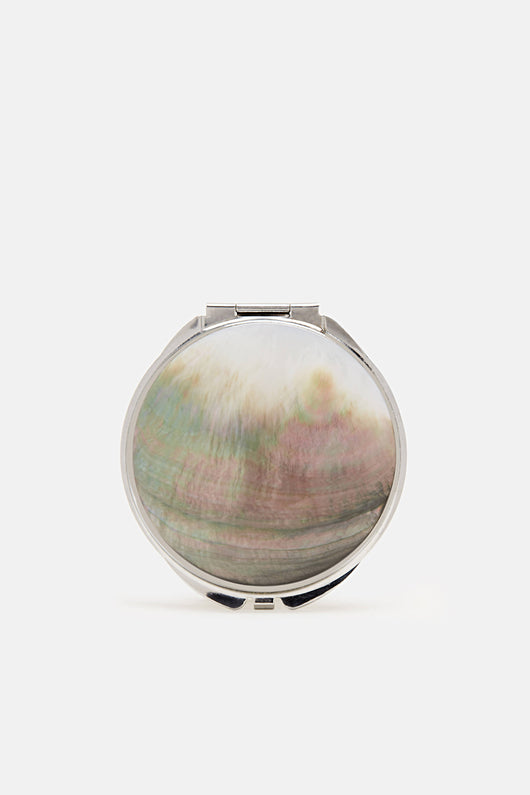 Mother of Pearl Compact Mirror - Small