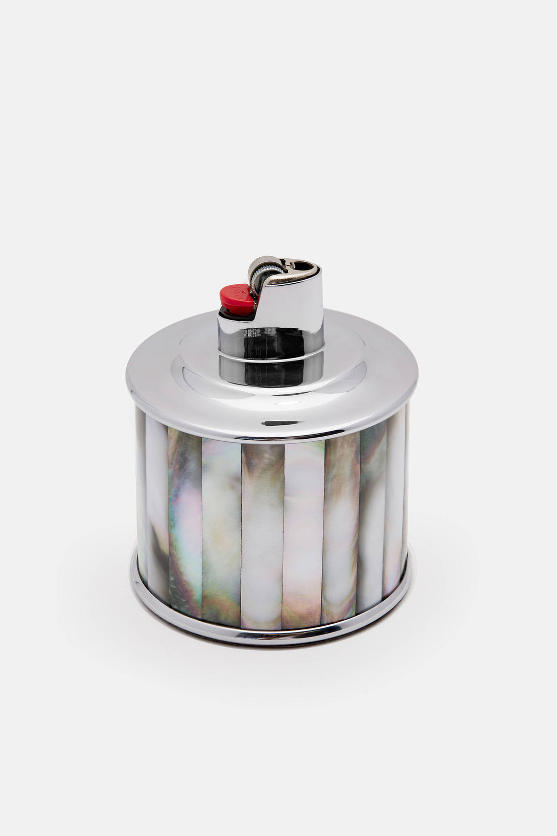 Mother of Pearl Tabletop Lighter