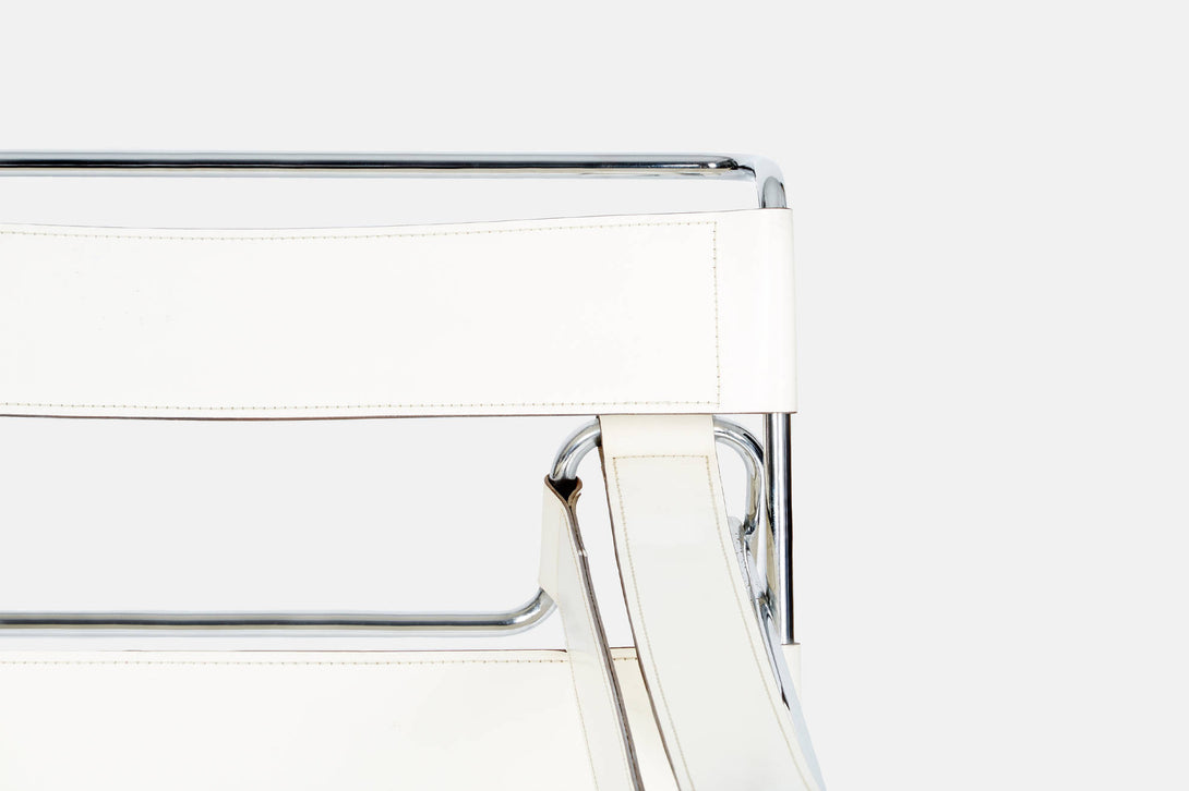 ... Wassily Chair by Marcel Breuer - White ...