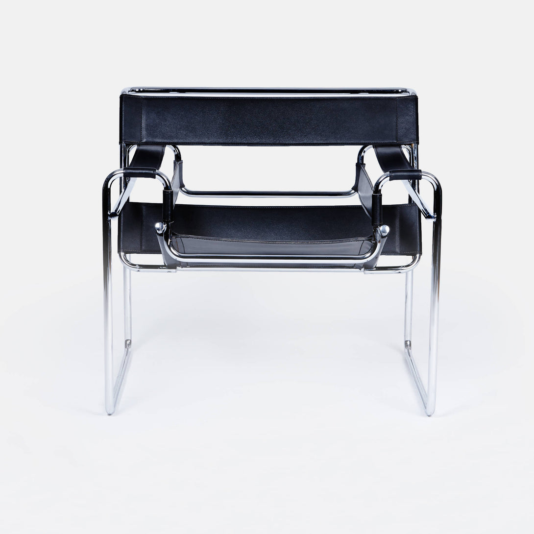 Wassily Chair by Marcel Breuer - Black