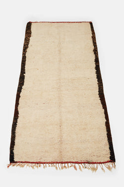 Vintage Moroccan Double-Sided Rug - 5'6 x 10'3