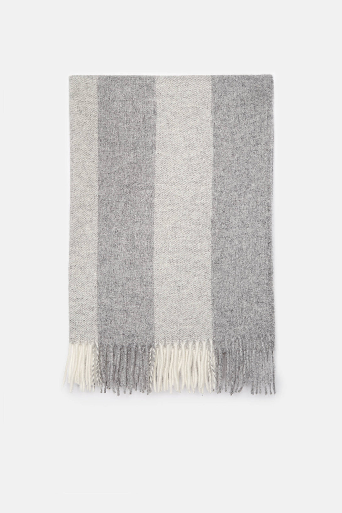 Canada Scarf - Natural White/Grey