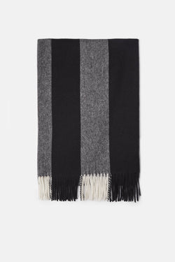 Canada Scarf - Natural White/Black