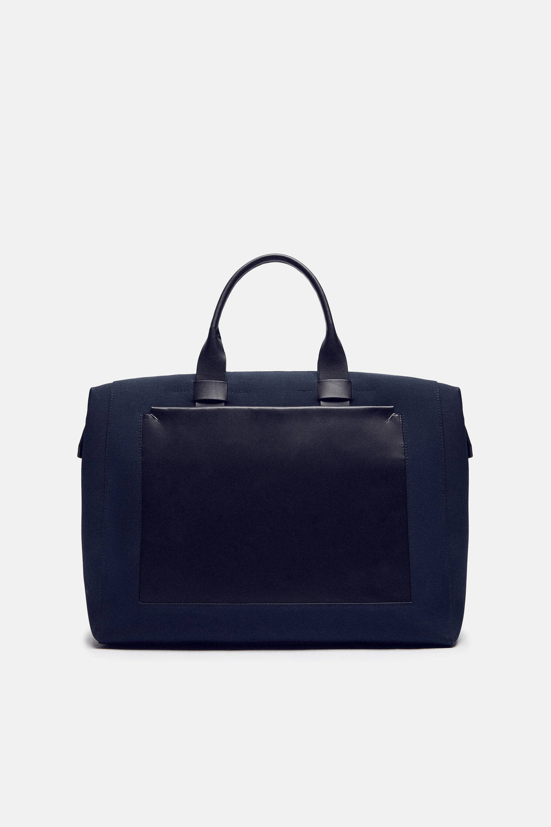 24-Hour Bag - Navy Coated Canvas