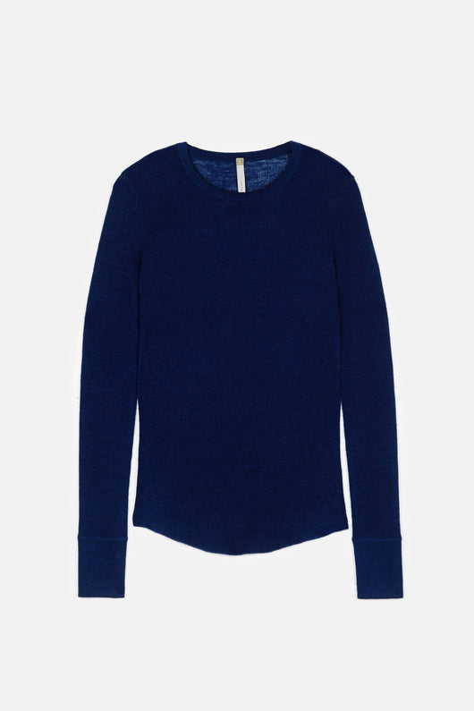 Cashmere Luxe Crew Neck - Midnight