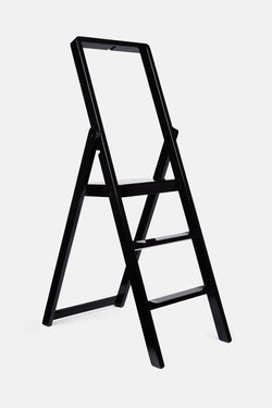 Step Ladder by Karl Malmvall - Black Lacquer