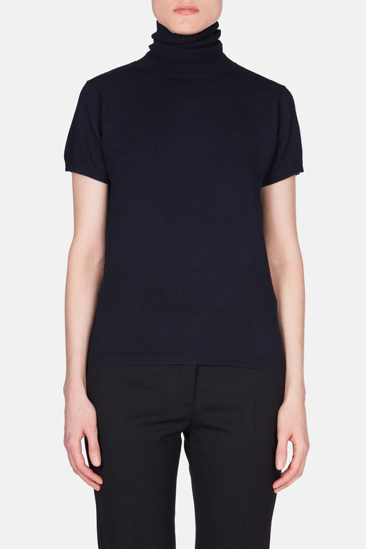 Dresden Turtleneck - Dark Navy
