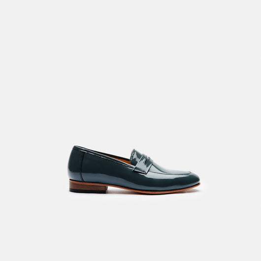 Penny Loafer - Dark Grey