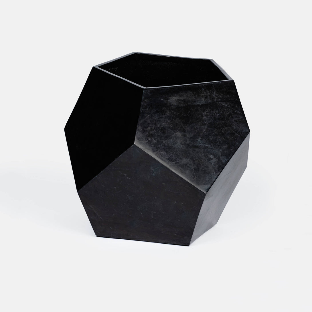 Stone Polyhedral Planter - Large