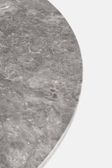 PK54 Table - Grey/Brown Honed Marble