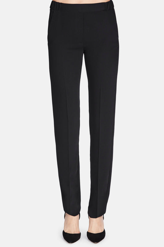 Fluid Slim Trouser - Black
