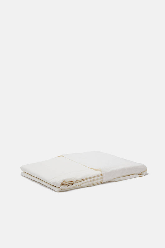 Washed Linen Sheeting - Full/Queen Flat Sheet
