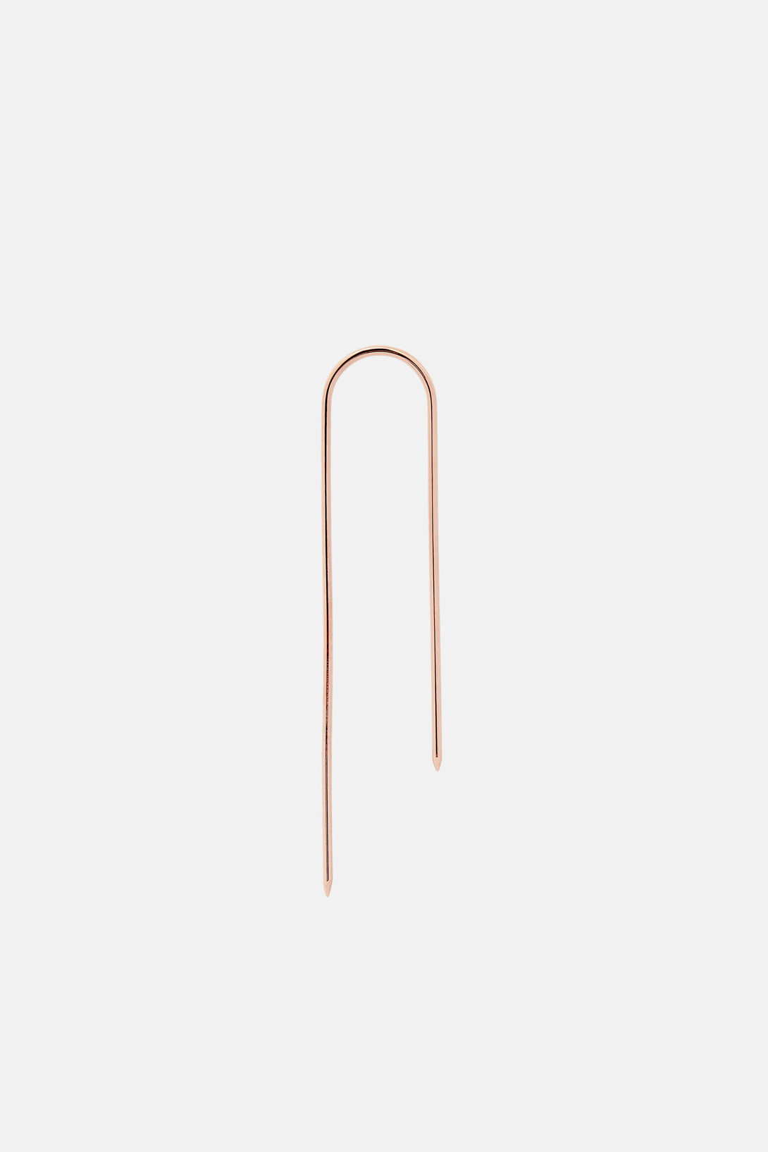 Infinite Hook Earring - 14K Rose Gold