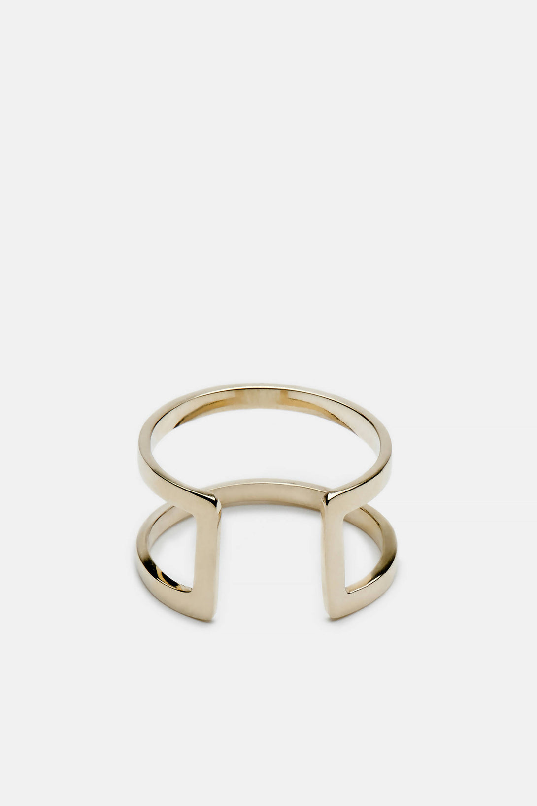 Cage Ring - 10K Yellow Gold