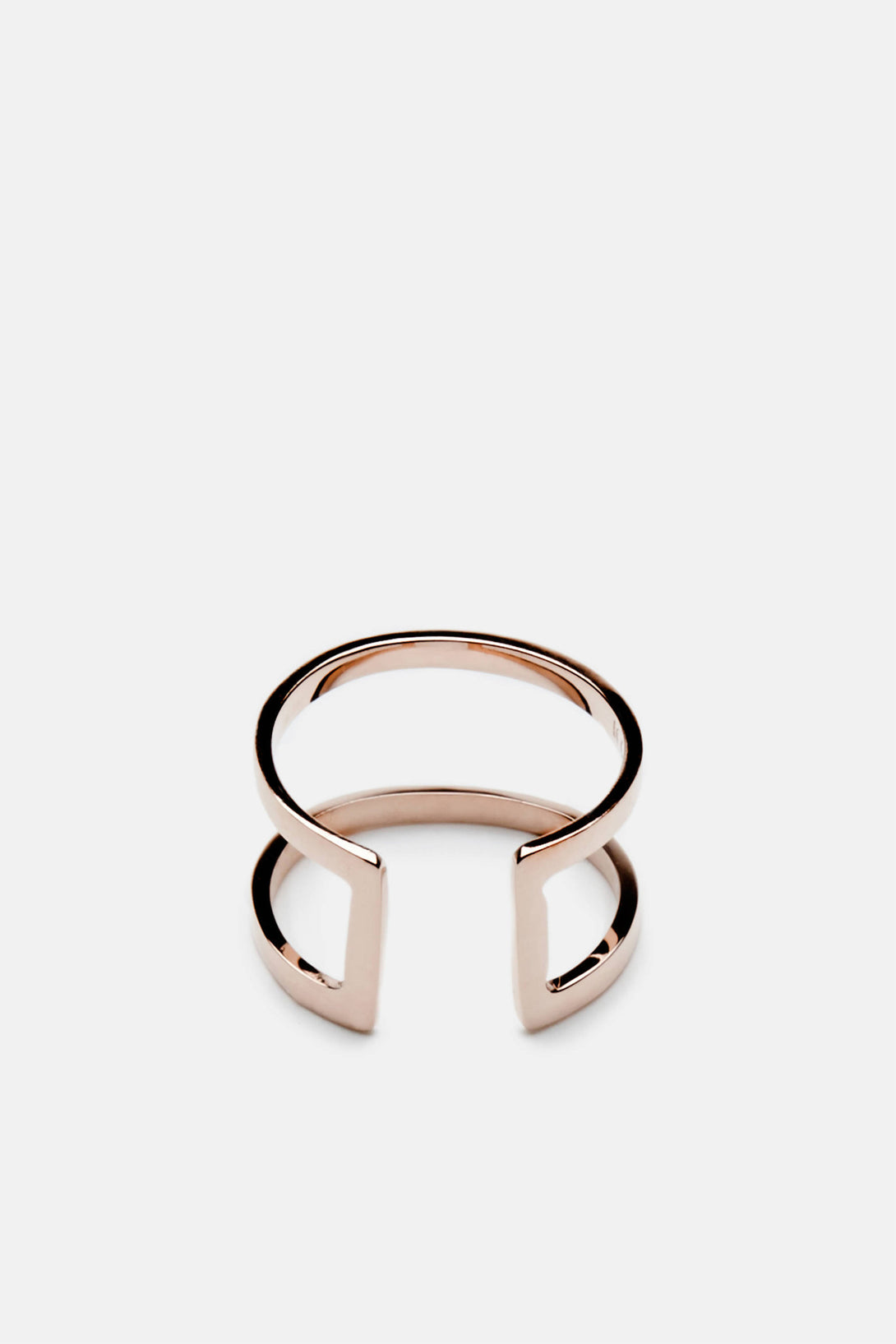 Cage Ring - 10K Rose Gold