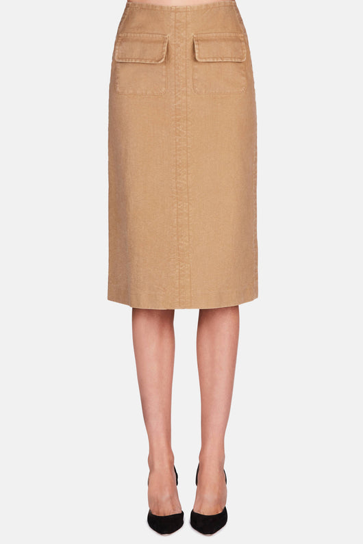 Barbara Skirt - Camel