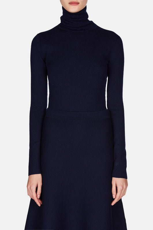 May Turtleneck - Navy