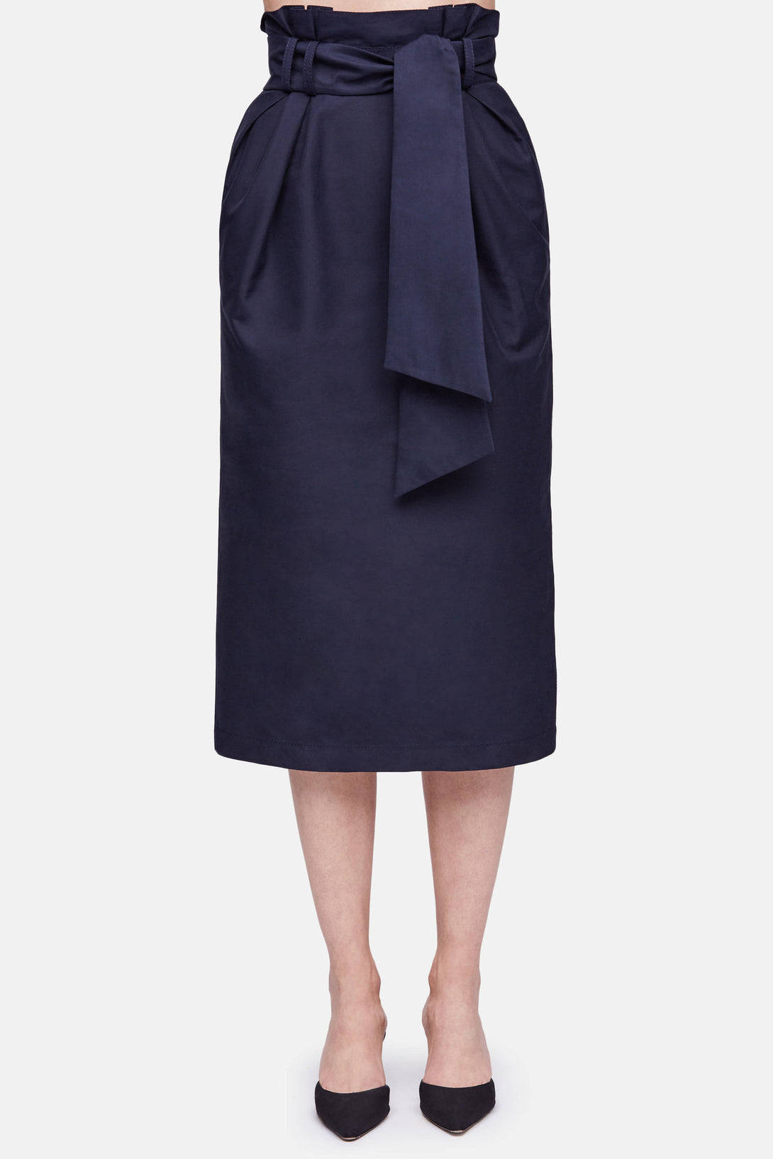Jordan Paperbag Skirt - Navy