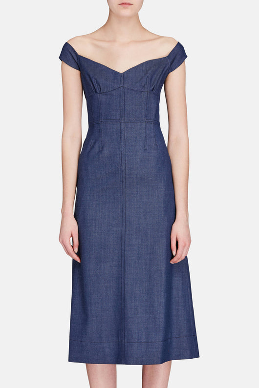 Merga Dress - Denim