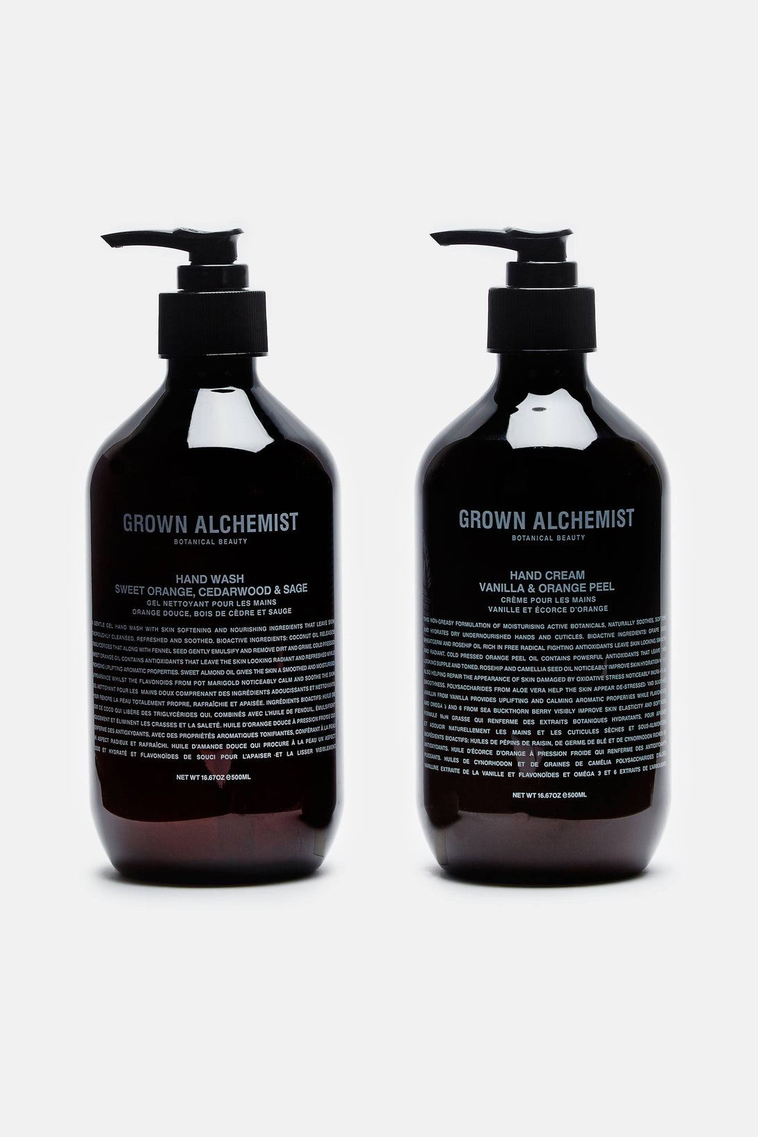 Handwash & Hand Cream Twin Set (500 ml)