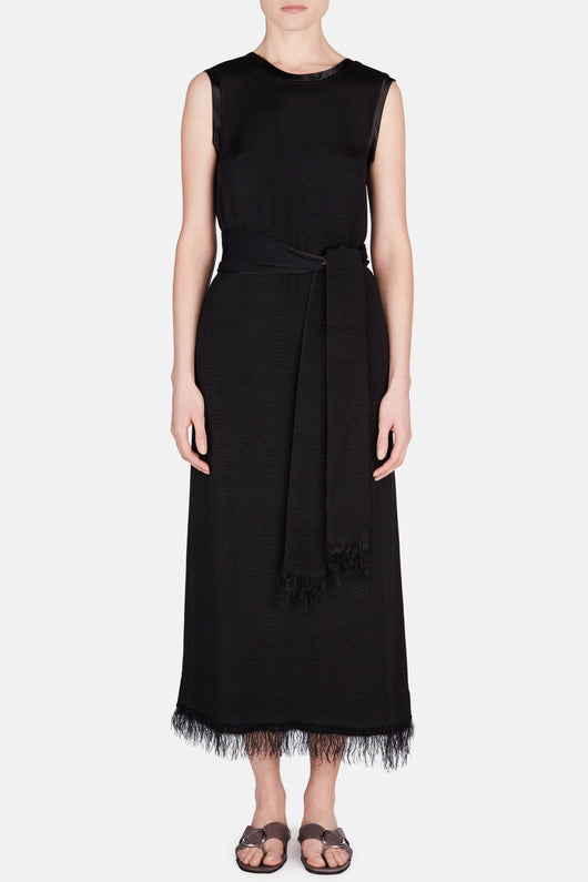 Gaia Long Dress - Black
