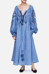 Gardens of Babylon Dress - Denim/Denim