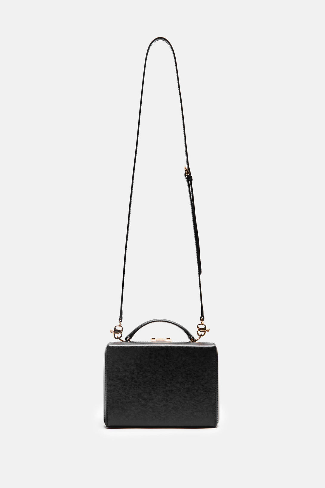 Grace Small Box Bag - Black