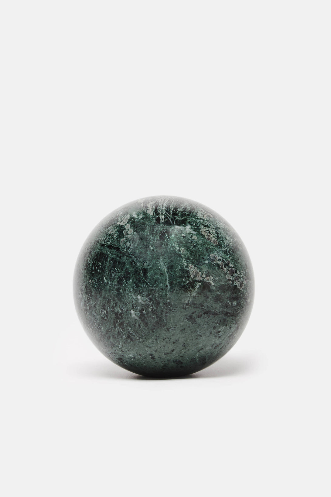 Marble Sphere - Green