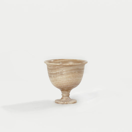 Onyx Greek Style Footed Bowl