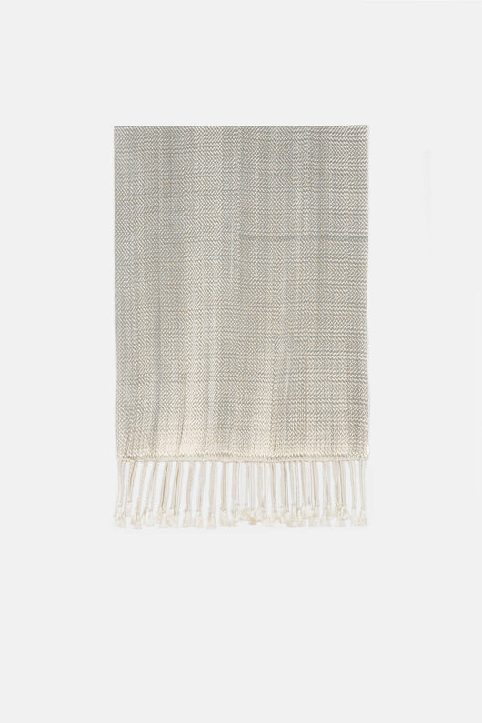 Scarf with Fringe - Off-White