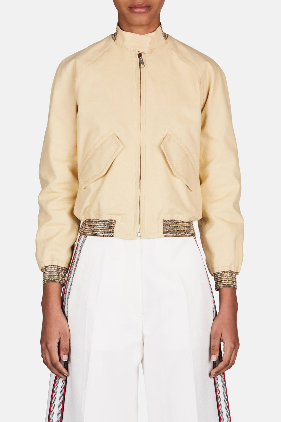 Harrington Bomber - Cream