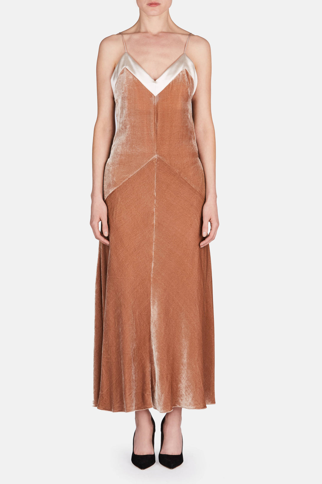 Slip Dress - Nude