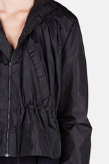 Jacket 11 Cropped Anorak - Black